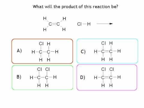 6  Alkenes - Multiple choice questions
