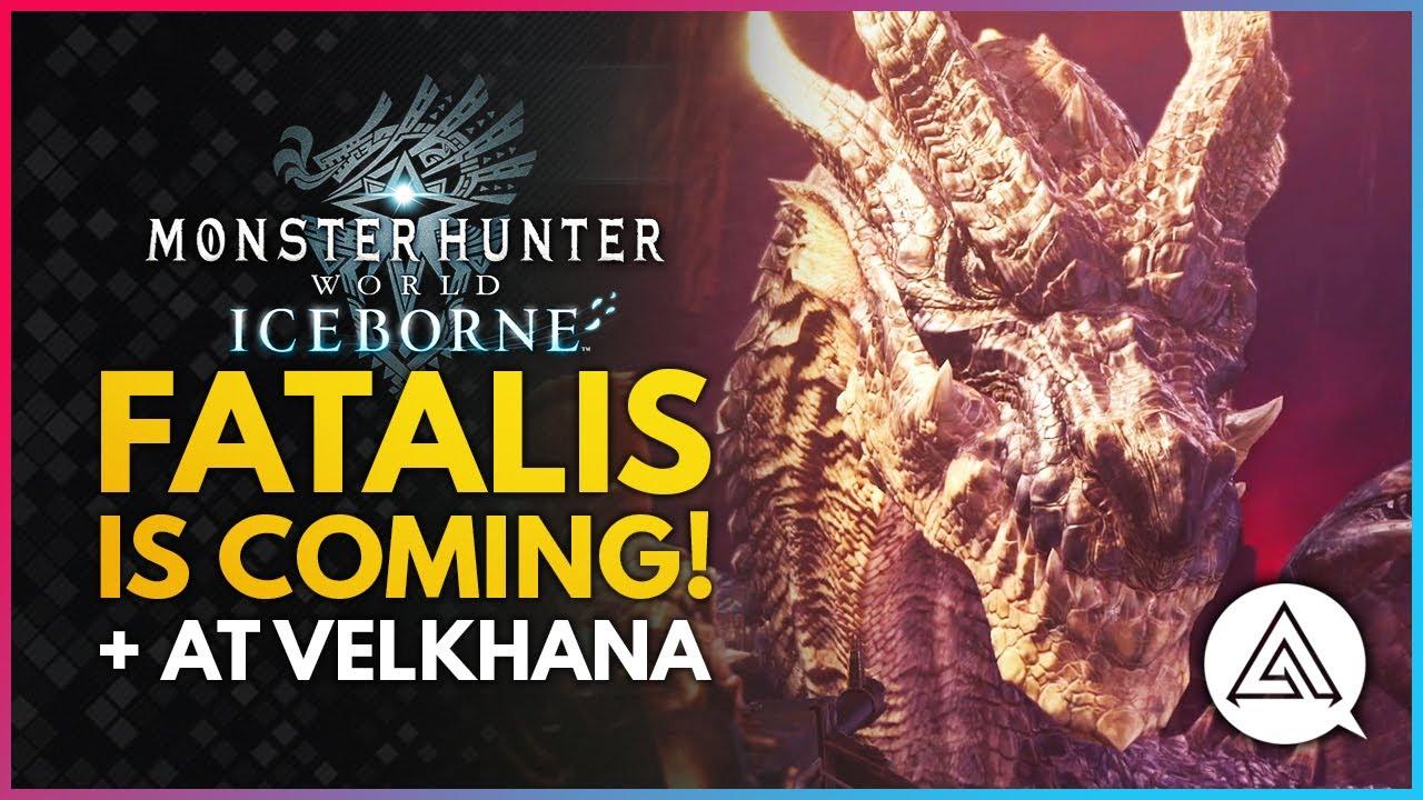 Monster Hunter World Iceborne | FATALIS IS COMING + AT Velkhana! Final Monster Update & More! thumbnail