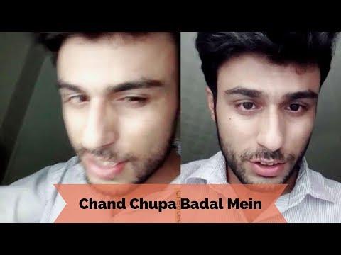 Chand Chupa Badal Mein | Bollywood New Song | Dubsmash  By Hamza Mhs