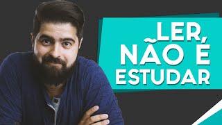 Ler não é estudar - técnicas de estudos para todos os níveis | Fernando Mesquita