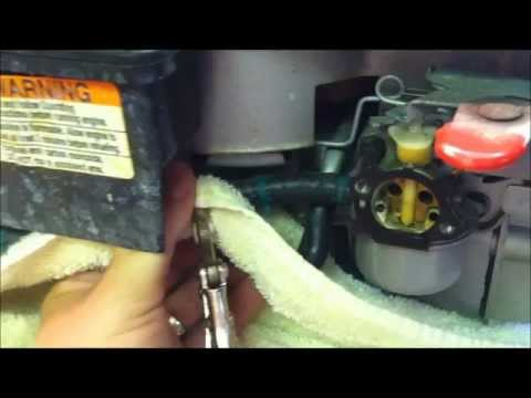 Craftsman Pressure Washer Carb Cleaning 6.75 HP How To Video