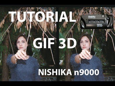 Tutorial / Gif 3D Análogo / Nishika n9000 (El real efecto Mura Masa)