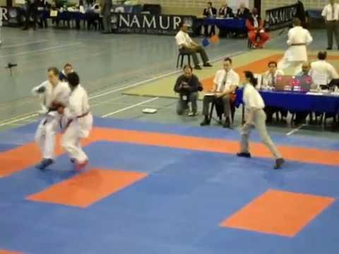 Mesnaoui Salah Karate actions WKF Nippon Karate Belgium