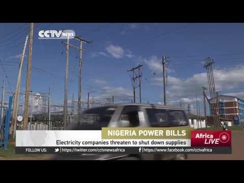Electricity companies in Nigeria threaten to shut down supplies