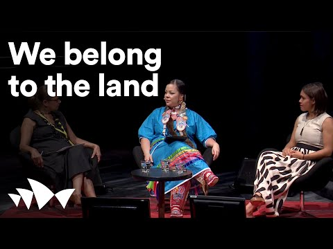 We belong to the land: Crystal Lameman & Amelia Telford, All About Women 2016