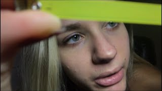 [ASMR] MEASURING YOUR FACE/ Inaudible/ Personal Attention Triggers