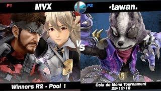 Cola Mono: MvX (Snake, Corrin) vs NF | •tawan. (Wolf) - Pool 1 WR2