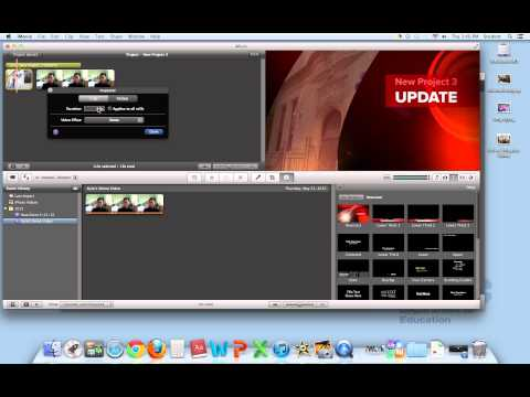 iMovie News Broadcast training part 1