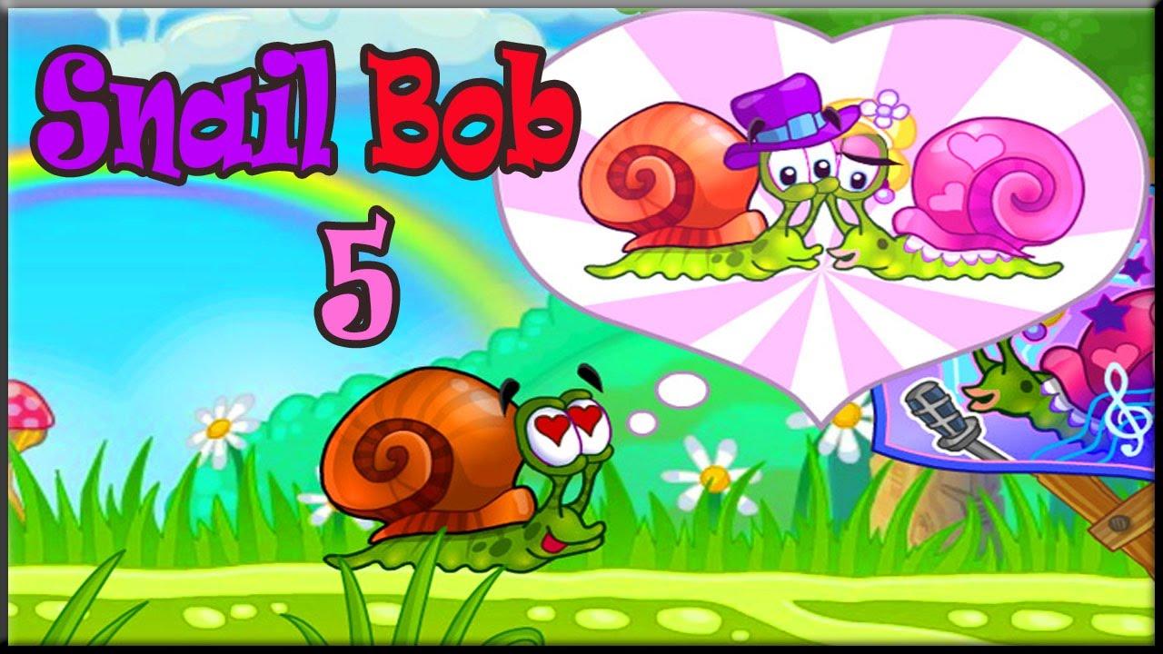 snail bob all levels