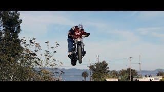 Crazy Insane Motorcycle Stunts Through San Francisco CA