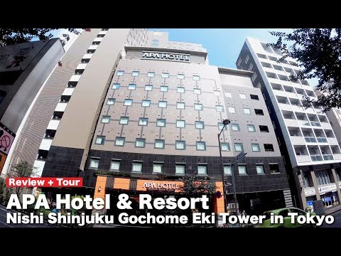 Tokyo APA Hotel & Resort Tour + Review✦Shinjuku✦Public Bath Area(Sento)