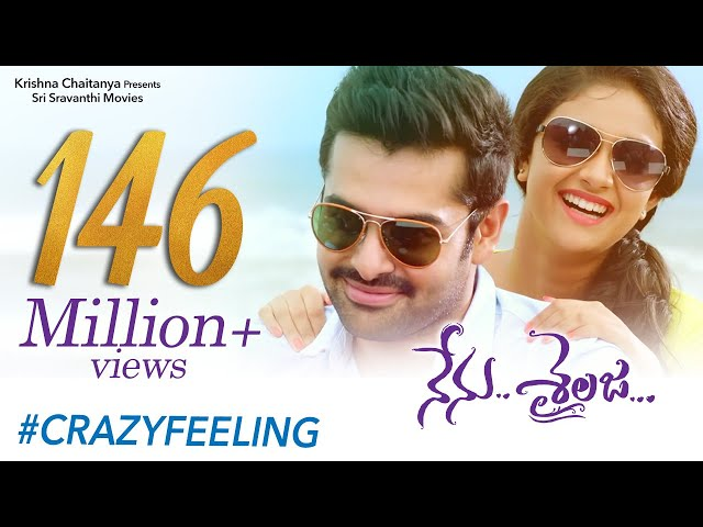 Crazy Feeling Full Video Song   Nenu Sailaja Telugu Movie   Ram   Keerthy Suresh   Devi Sri Prasad