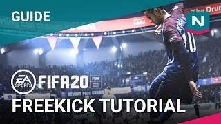 FIFA 20 Tutorials - Freekicks (Top spin, Side spin, Knuckleball)