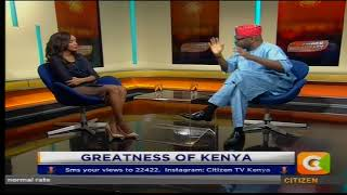 Power Interview with Dr. Wale on the greatness of Kenya