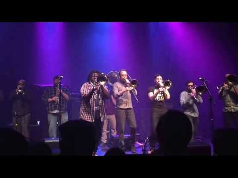 No BS Brass Band - Everybody Wants To Rule The World (Cover), Richmond, VA 3/3/17