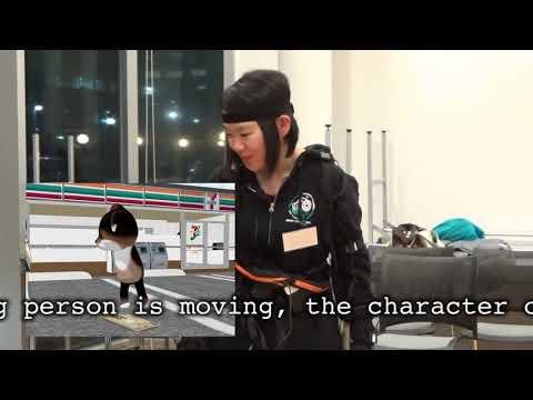 中島良監督によるモーションキャプチャー体験ワークショップ