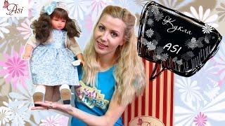 Большая испанская кукла ASI Эли, распаковка и обзор Куклы-Пупсы