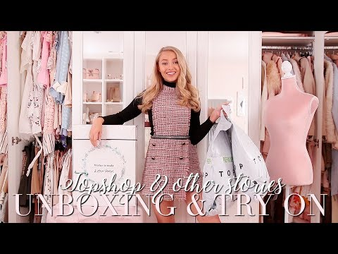 Topshop & Other Stories Unboxing & Try on! ~ Freddy My Love