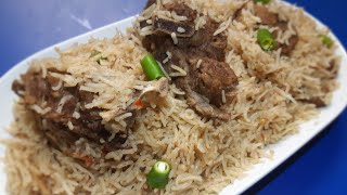Beef Yakhni Pulao  Beef Pulao  Eid Special  Ruby&#39s Food and Tour