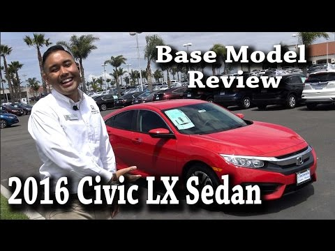 2016 Civic LX (base Model) Sedan Review