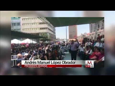AMLO compara a Vicente Fox con Carlos Salinas de Gortari