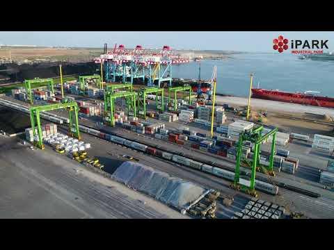iPark — industrial park at port TIS. Odessa. Ukraine