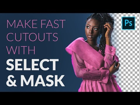 How To Cut Out A Person FAST With Select & Mask