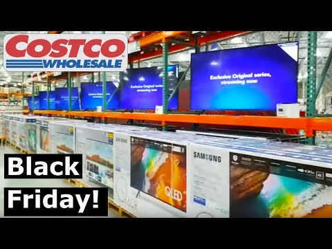 Costco Black Friday Deals On Floor It's All About TVs! PT. 1