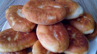 Пирожки жареные с весенней начинкой. Без яиц и кефира!