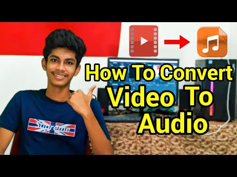 How To Convert Video To Audio On Mobile In Tamil | Ganesh Tech |