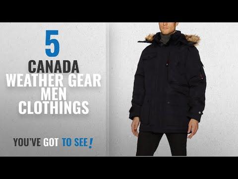 Top 10 Canada Weather Gear Men Clothings [ Winter 2018 ]: Canada Weather Gear Men's Heavy Weight