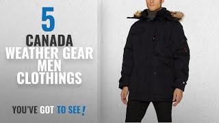 Top 10 Canada Weather Gear Men Clothings [ Winter 2018 ]: Canada Weather Gear Men