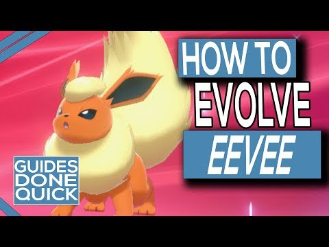 How To Evolve Eevee In Pokemon Sword And Shield