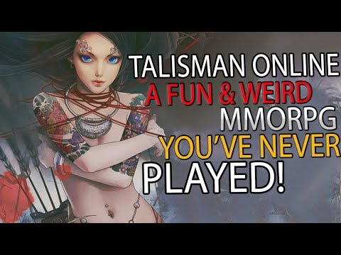 First Look At This Fun Yet Weird MMORPG Talisman Online! Have You Played It?!