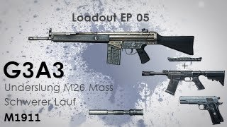 Loadout #5: G3A3, M1911, M26 Mass - Für alle Distanzen gut ausgestattet? [Battlefield-3.org]