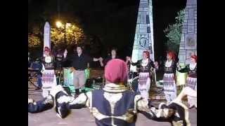 ODYSSEY Greek Dance Group From Ottawa In Tsaritsani,Larisa #5