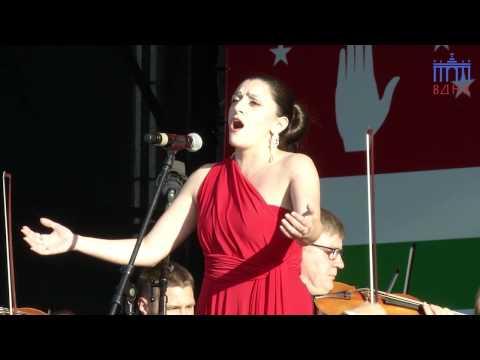 Нана Черкезия - День Абхазии на ВДНХ