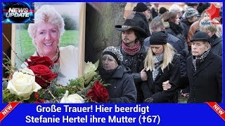 Große Trauer! Hier beerdigt Stefanie Hertel ihre Mutter (†67)