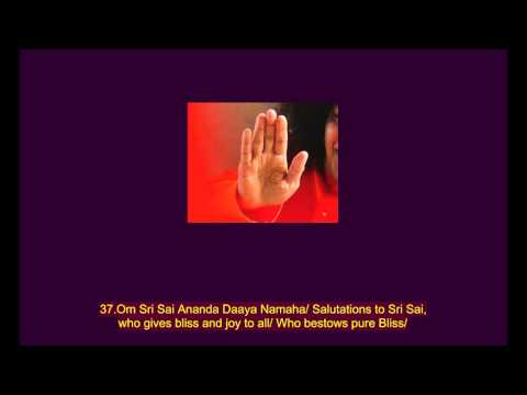 108 names of Sri Sathya Sai Baba (Sri Sathya Sai Baba Ashtottaram)