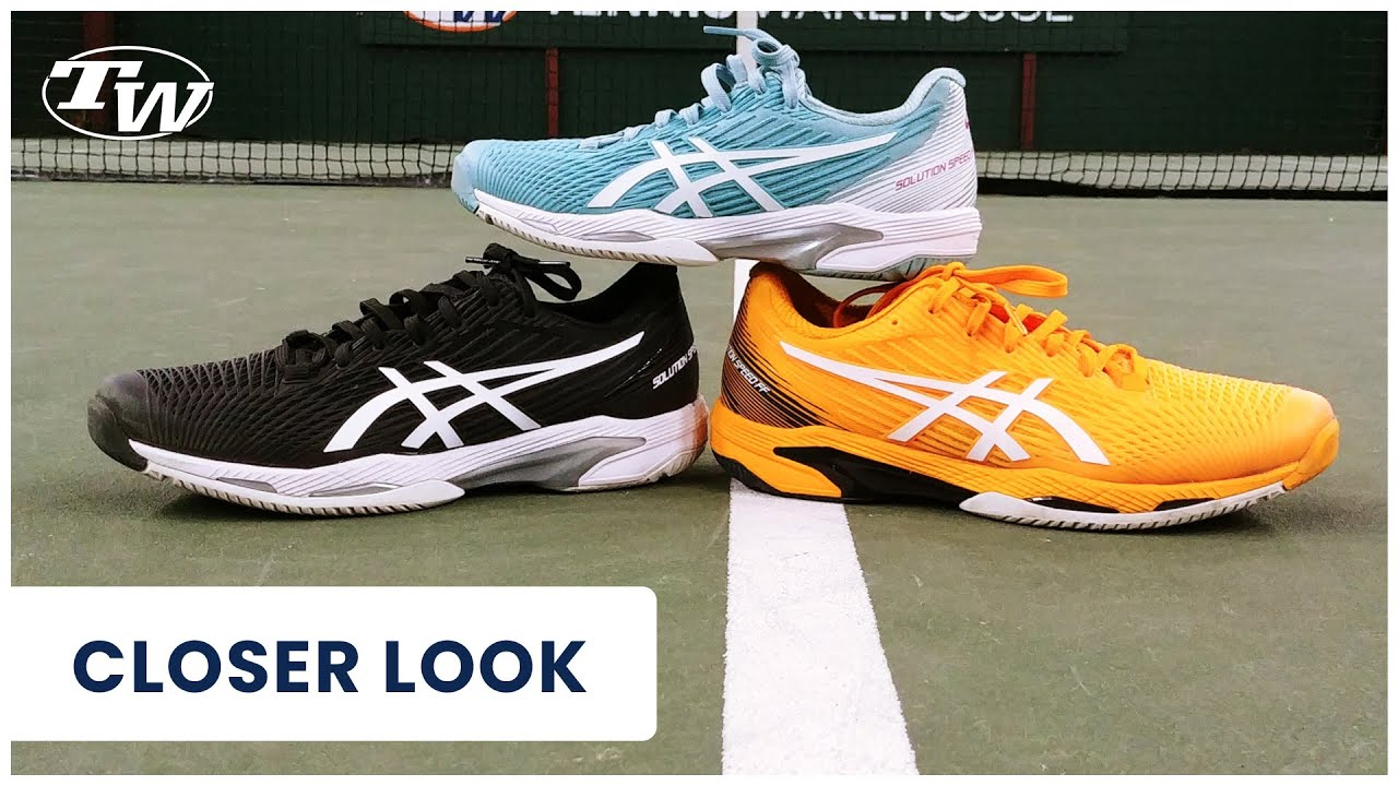 Take a Closer Look at the New Asics Solution Speed FF 2 Tennis Shoe (new for 2021!)