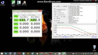 BUSINESS DESIGN | Sandisk Ultra Flair usb 3.0 64 GB Flash Drive Speed Test with 3 APP