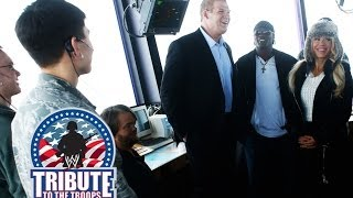 WWE Superstars tour an Air Traffic Control Tower: 2013 Tribute to The Troops