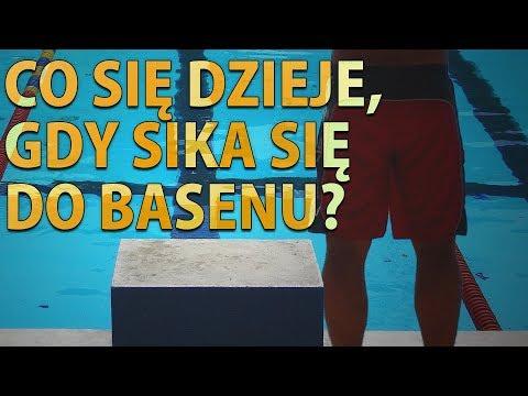 Co się dzieje, gdy sika się do basenu?