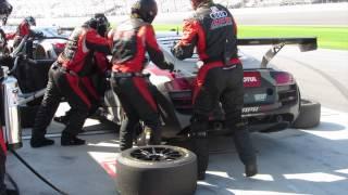 Daytona 24 APR Audi R8 #51 Pit S