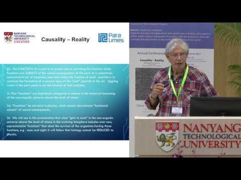Conference: Causality - Reality - Stuart Kauffman