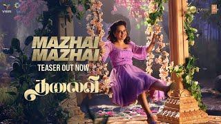 Mazhai Mazhai Teaser ► THALAIVI | Kangana Ranaut | Saindhavi Prakash | Song Releasing Tomorrow