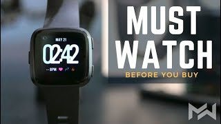 TOP 4 Reasons I HATE & LOVE the Fitbit Versa - Smartwatch Fitness Tracker REVIEW
