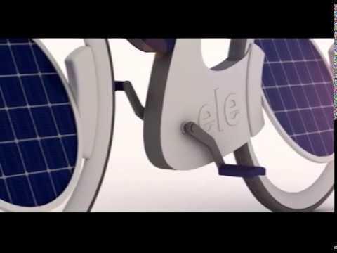 """""""ele"""" solar bicycle"""