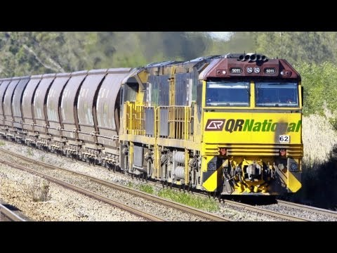 Newcastle & Hunter Valley Coal Trains 2010 - Australian Trains, New South Wales