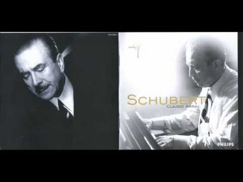C. Arrau plays Schubert Sonata D.664 & Impromptus D.899